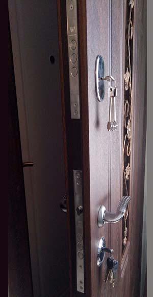 Дверь Арка ковка № 3 960*2050 (входная с улицы) 6