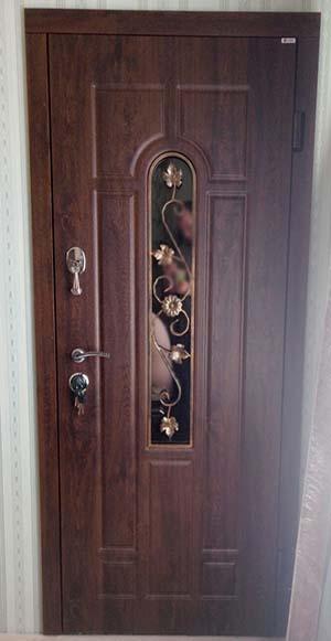 Дверь Арка ковка № 3 960*2050 (входная с улицы) 7