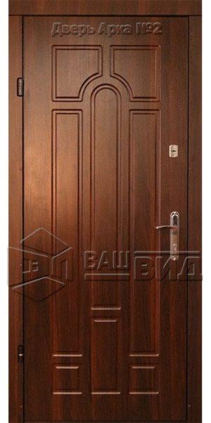 Двери Арка 10 860*2050 (входные квартира)