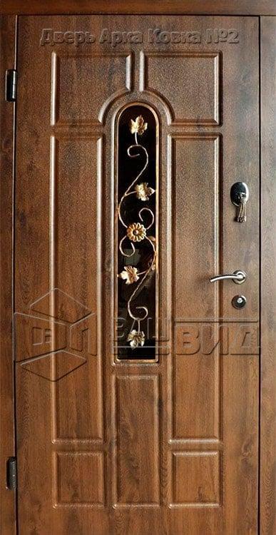 Дверь Арка ковка №2 860*2040 (входная с улицы) 5