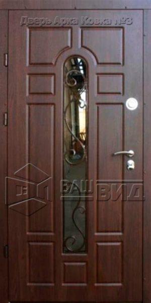 Дверь Арка ковка № 3 960*2050 (входная с улицы)