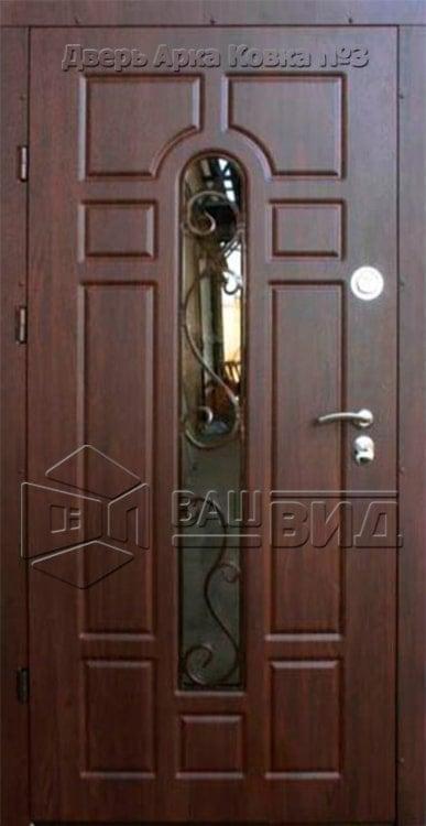 Дверь Арка ковка № 3 960*2050 (входная с улицы) 5