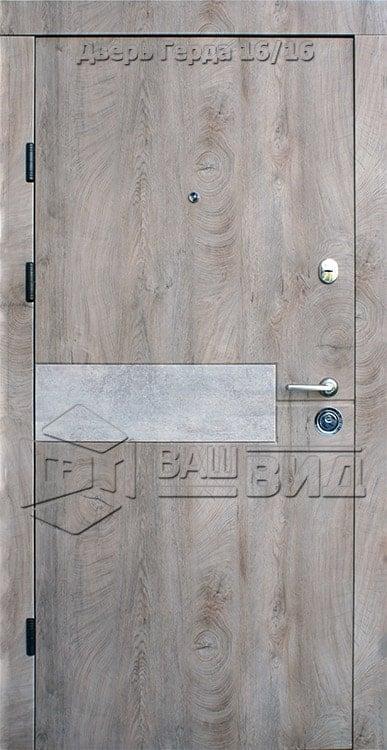Двери Герда 950*2050 (входные квартира) 5