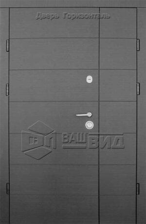 Дверь Горизонталь 1200*2050 (входная с улицы)