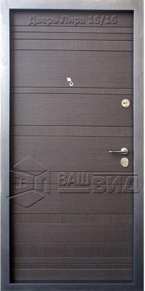 Двери Лира 850*2050 (входные квартира)