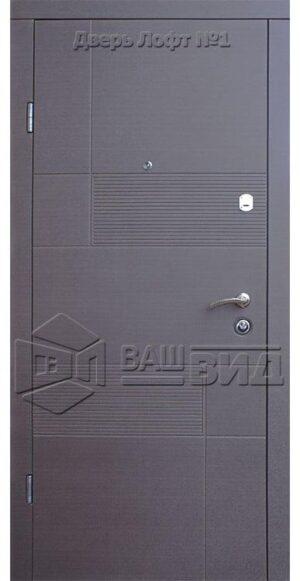 Двери Лофт 1 960*2040 (входные квартира)