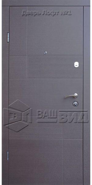 Двери Лофт 1 860*2050 (входные квартира)