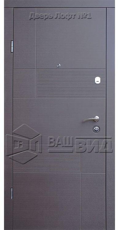 Двери Лофт 1 860*2040 (входные квартира) 5