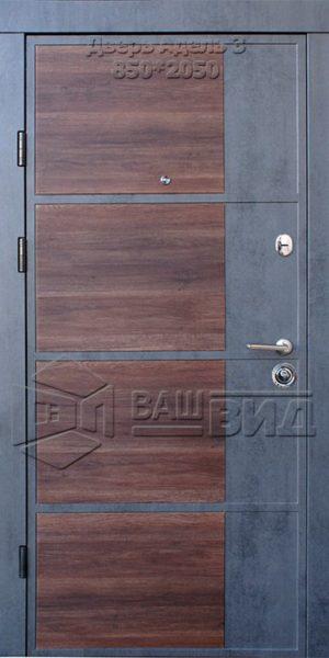 Двери Адель 3 850*2050 (входные квартира)