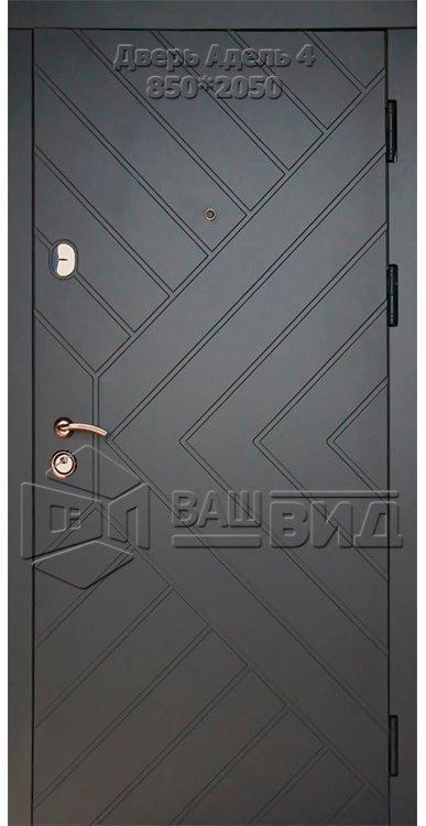 Двери Адель 4 860*2040 (входные квартира) 5