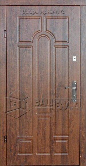 Дверь Арка №1 860*2050 (входная с улицы)