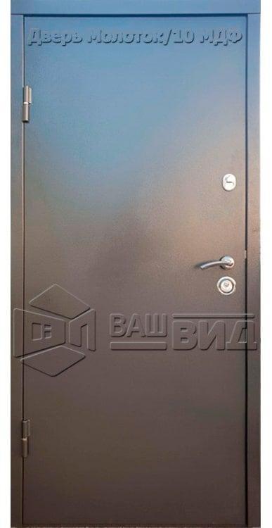 Дверь Молоток/16 МДФ 3 950*2040 (входная с улицы)