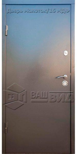 Дверь Молоток/16 МДФ 3 850*2040 (входная с улицы)