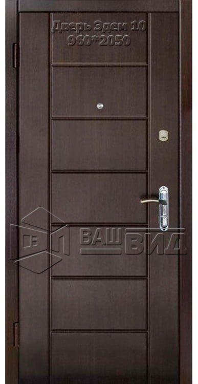 Двери Эдем 10 960*2050 (входные квартира)