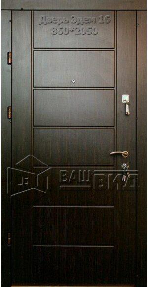 Двери Эдем 16 860*2040 (входные квартира)
