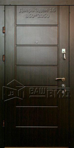 Двери Эдем 16 860*2050 (входные квартира)