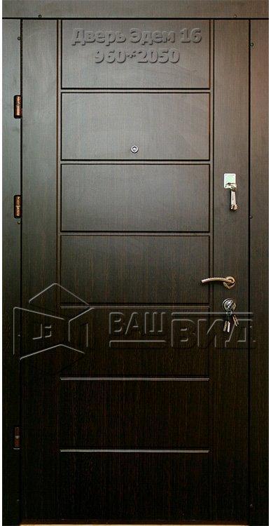 Двери Эдем 16 960*2050 (входные квартира)