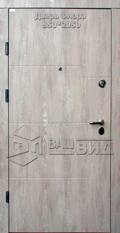 Двери Флора 860*2040 (входные квартира) 5