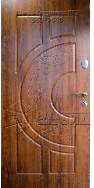 Двери Грандвид №2 950*2040 (входные квартира)