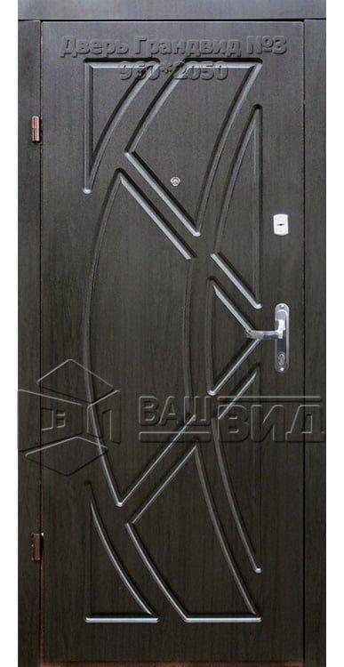 Двери Грандвид №3 960*2050 (входные квартира) 5