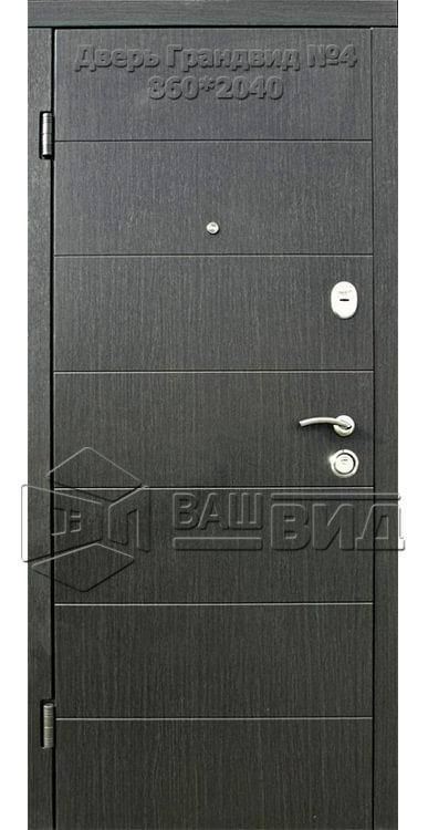 Двери Грандвид №4 860*2040 (входные квартира) 5