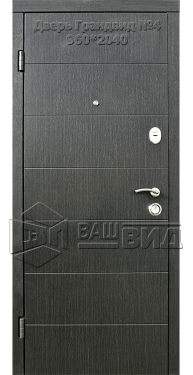 Двери Грандвид №4 960*2040 (входные квартира) 5