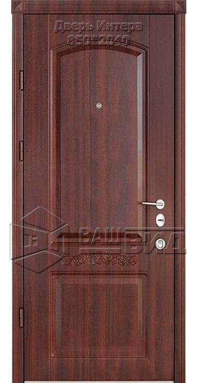Двери Интера 850*2040 (входные квартира) 5