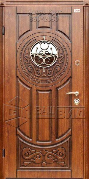 Дверь Круг 860*2050 (входная с улицы)