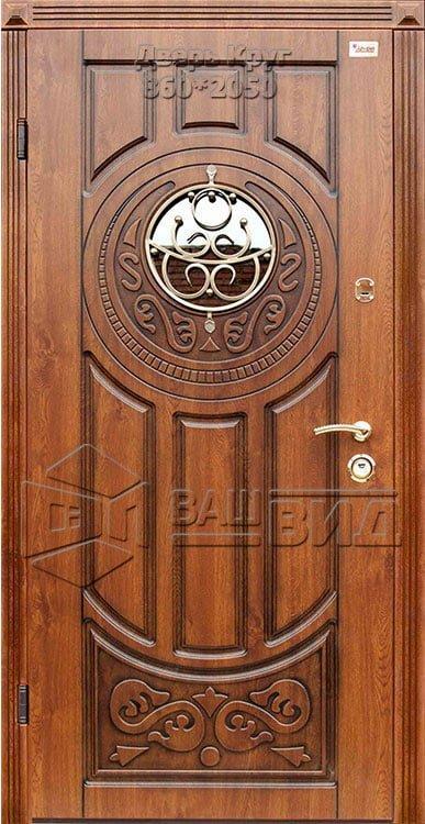 Дверь Круг 860*2050 (входная с улицы) 5