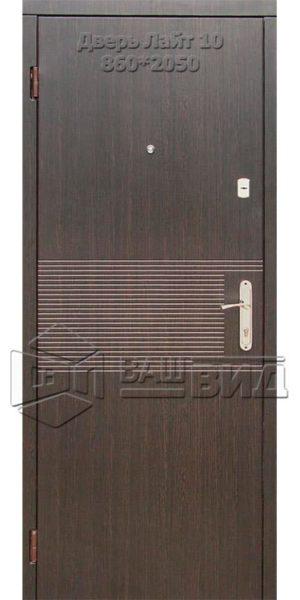 Двери Лайт 10 860*2050 (входные квартира)