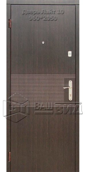 Двери Лайт 10 960*2050 (входные квартира)