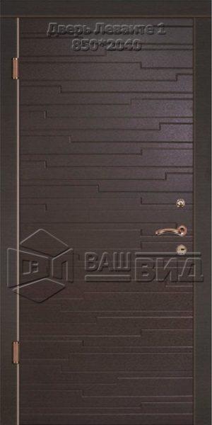 Двери Леванте 1 850*2040 (входные квартира)