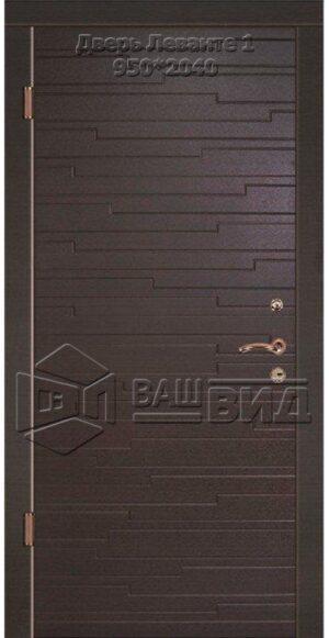 Двери Леванте 1 950*2040 (входные квартира)