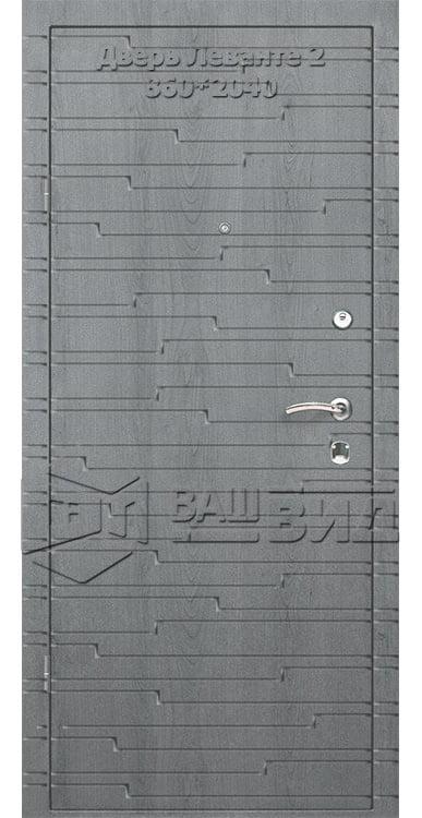 Двери Леванте 2 860*2040 (входные квартира) 5