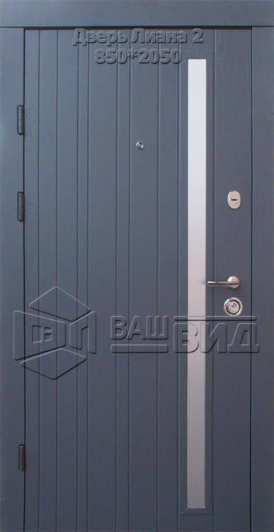 Двери Лиана 2 850*2050 (входные квартира) 5