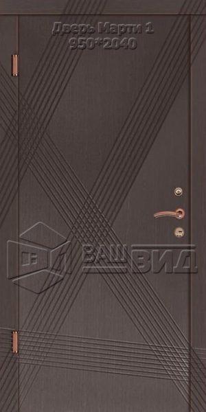 Двери Марти 1 950*2040 (входные квартира)