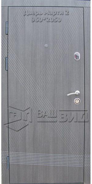 Двери Марти 2 960*2050 (входные квартира)