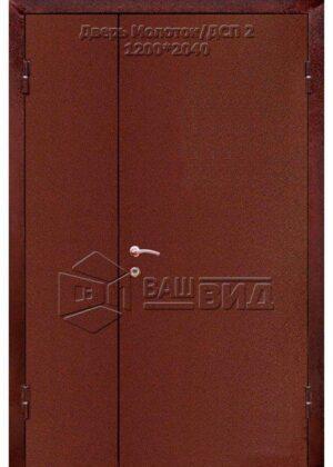 Дверь Молоток /ДСП 2 1200*2040 (входная с улицы)