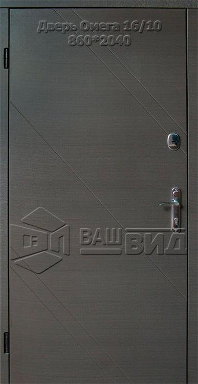 Дверь Омега 16/10 860*2040 (входная с улицы) 5