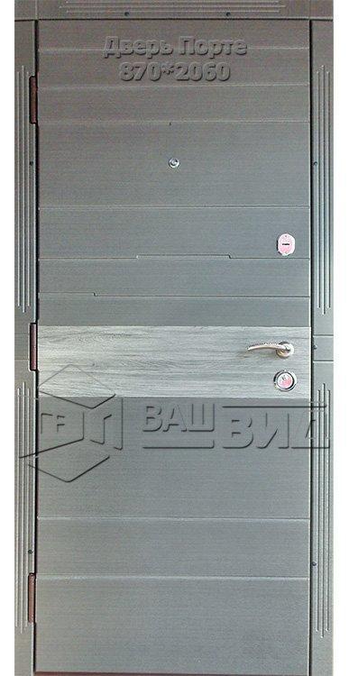 Двери Порте 870*2060 (входные квартира) 5