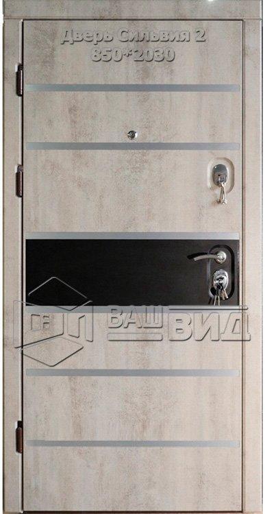 Двери Сильвия 2 850*2030 (входные квартира) 5