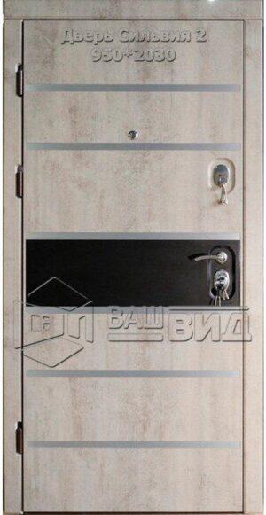Двери Сильвия 2 950*2030 (входные квартира)