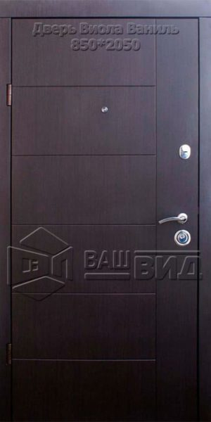 Двери Виола ваниль 850*2050 (входные квартира)