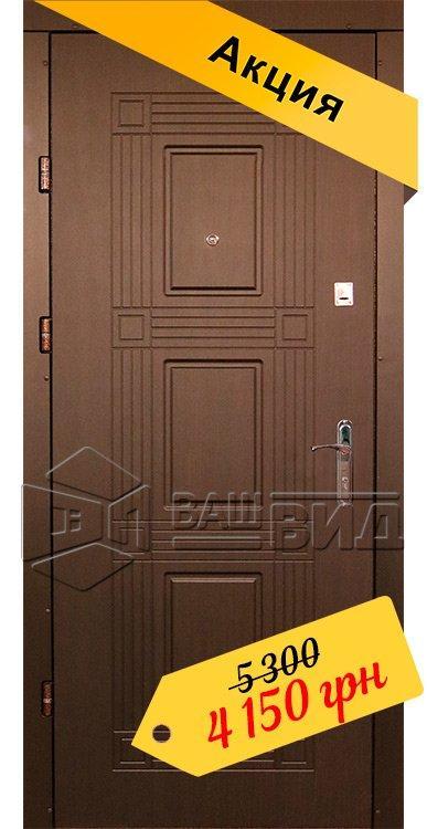 Двери Сенатор 10 860*2050 (входные квартира)