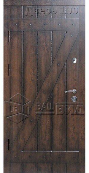 Дверь СД12 (входная улица)