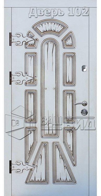 Входные двери (под заказ) • ВДН-102-1