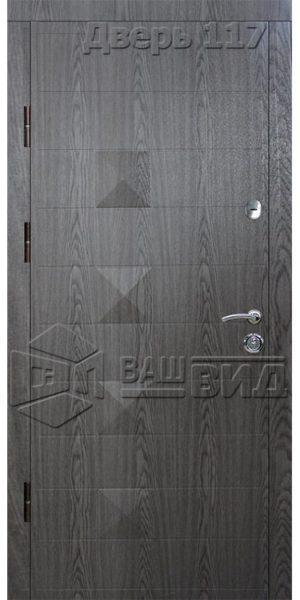 Дверь Ромб 3 (входная улица)