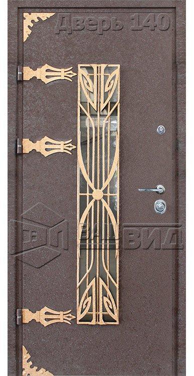 Входные двери (под заказ) • ВДН-140-1