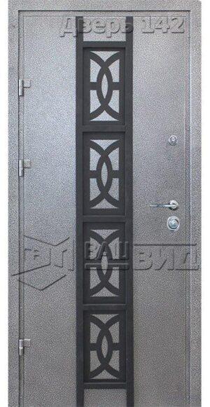 Дверь Офис декор 9 (входная улица)