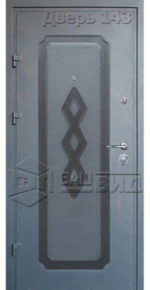 Дверь Офис декор 10 (входная улица)